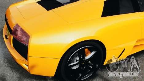 Lamborghini Murcielago LP640 2007 [EPM] pour GTA 4 Vue arrière
