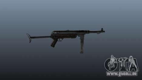 MP 40 Maschinenpistole für GTA 4 dritte Screenshot