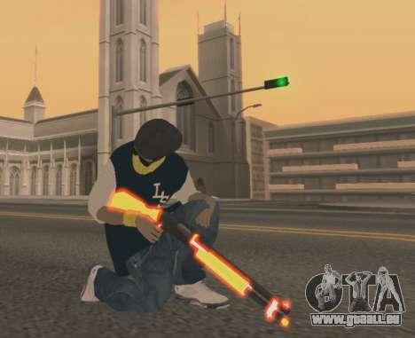 Vagos Gun Pack für GTA San Andreas dritten Screenshot