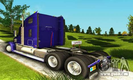 Freightliner Coronado für GTA San Andreas rechten Ansicht