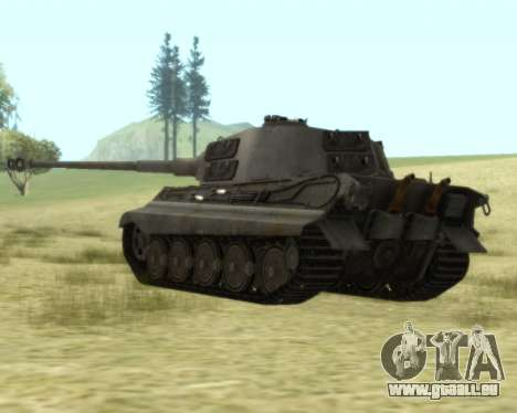 PzKpfw VIB Tiger II pour GTA San Andreas vue de droite