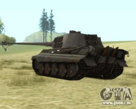 PzKpfw VIB Tiger II für GTA San Andreas rechten Ansicht