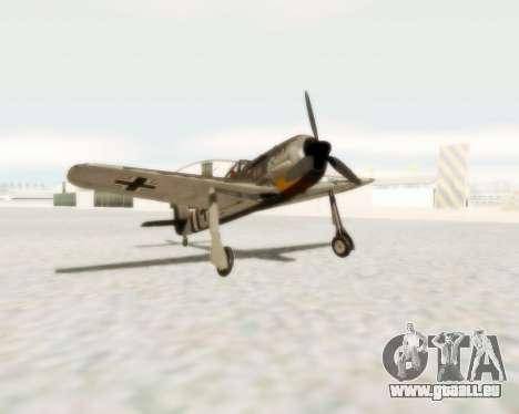 Focke-Wulf FW-190 A5 für GTA San Andreas