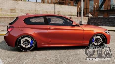 BMW M135i 2013 pour GTA 4 est une gauche