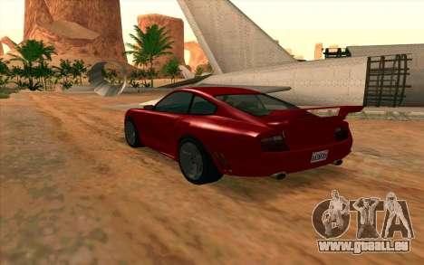 Comet GTA V pour GTA San Andreas laissé vue