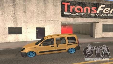 Renault Kangoo 2005 v1.0 TMC pour GTA San Andreas laissé vue