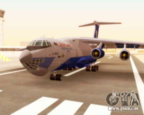 Il-76td Silk Way für GTA San Andreas