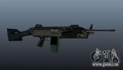 Aktualisierte M249 Maschinengewehr für GTA 4 dritte Screenshot