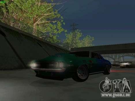 Chevrolet Camaro z28 Falken edition für GTA San Andreas Seitenansicht