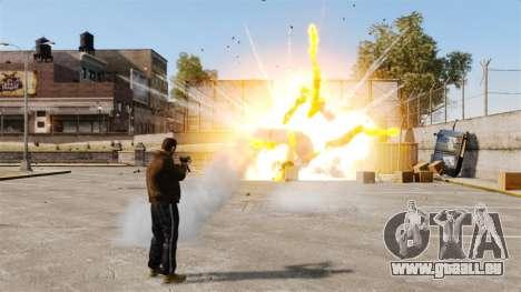 Tir de roquettes pour GTA 4 sixième écran
