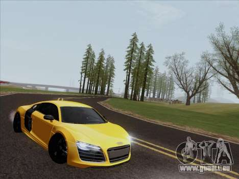 Audi R8 V10 Plus für GTA San Andreas linke Ansicht