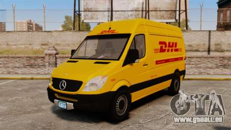 Mercedes-Benz Sprinter 2500 Delivery Van 2011 pour GTA 4