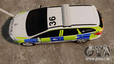 Ford Focus Estate Norfolk Constabulary [ELS] pour GTA 4 est un droit