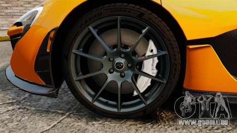 McLaren P1 2014 [EPM] für GTA 4 Rückansicht