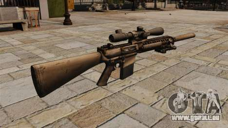 Das M110-Scharfschützengewehr für GTA 4 Sekunden Bildschirm
