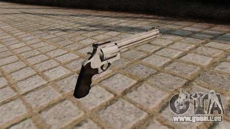500 S & W Magnum revolver. pour GTA 4 secondes d'écran