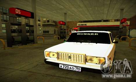 BUNKER VAZ 2107 pour GTA San Andreas