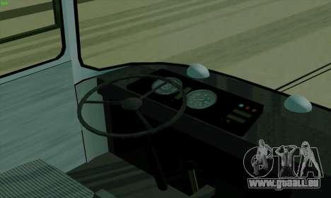 LAZ 699R pour GTA San Andreas vue arrière
