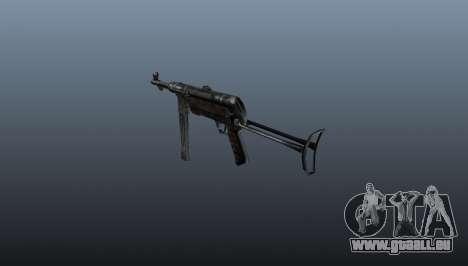 MP 40 Maschinenpistole für GTA 4 Sekunden Bildschirm