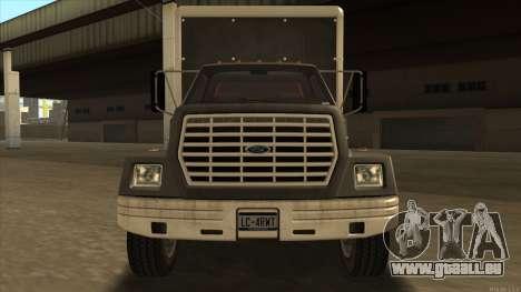 Yankee HD from GTA 3 pour GTA San Andreas laissé vue