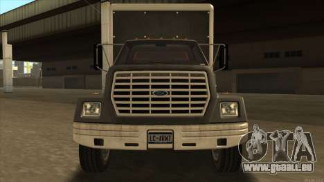 Yankee HD from GTA 3 für GTA San Andreas linke Ansicht