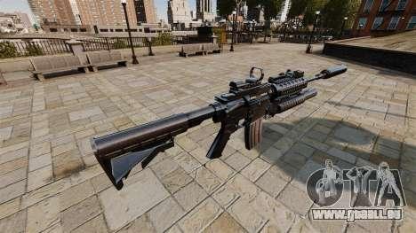 Automatische Carbine M4A1 SOPMOD für GTA 4 Sekunden Bildschirm
