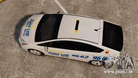 Toyota Prius 2011 Warsaw Taxi v2 pour GTA 4 est un droit