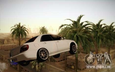 Mietwagen in Luft fixieren für GTA San Andreas