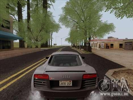 Audi R8 V10 Plus für GTA San Andreas Seitenansicht