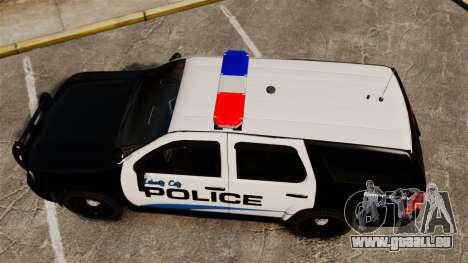Chevrolet Tahoe Police [ELS] pour GTA 4 est un droit