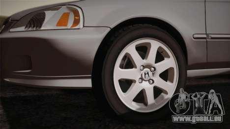 Honda Civic Si 1999 Coupe pour GTA San Andreas vue de droite