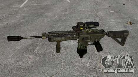M4 Carbine hybride portée pour GTA 4 troisième écran