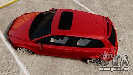 Volvo C30 T5 2009 für GTA 4 rechte Ansicht