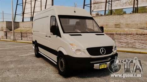 Mercedes-Benz Sprinter 2500 Delivery Van 2011 für GTA 4