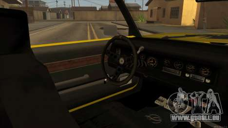 Sabre HD from GTA 3 für GTA San Andreas Rückansicht