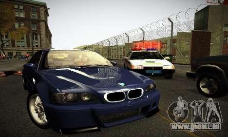 BMW E46 M3 CSL pour GTA San Andreas