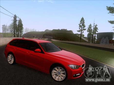 BMW 3 Touring F31 2013 pour GTA San Andreas