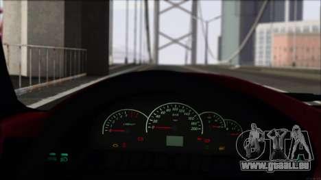 VAZ-2112 Sports pour GTA San Andreas vue arrière