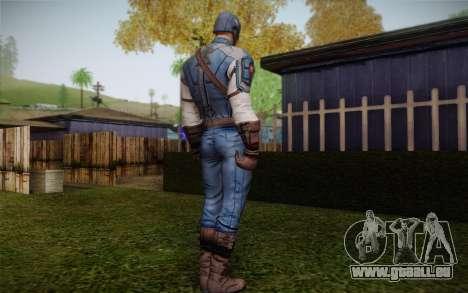 Captain America: First Avenger pour GTA San Andreas deuxième écran