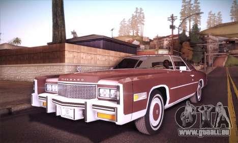 Cadillac Eldorado 1978 Coupe pour GTA San Andreas