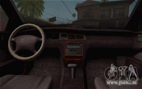 Toyota Crown Royal saloon g 3.0 für GTA San Andreas rechten Ansicht