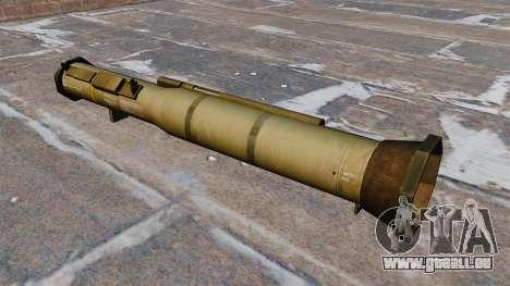 Panzerabwehr-Granatwerfer AT4 für GTA 4 Sekunden Bildschirm