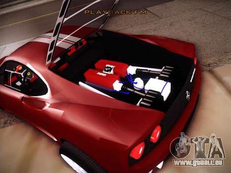Ferrari 360 Challenge Stradale pour GTA San Andreas vue de côté