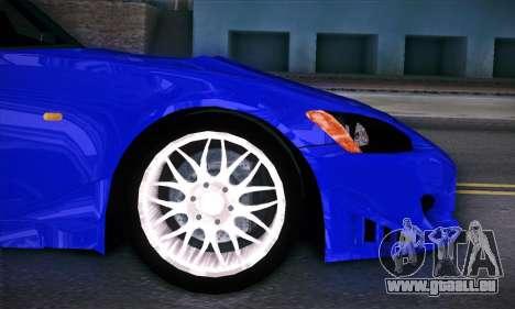 Honda S2000 pour GTA San Andreas vue de dessus