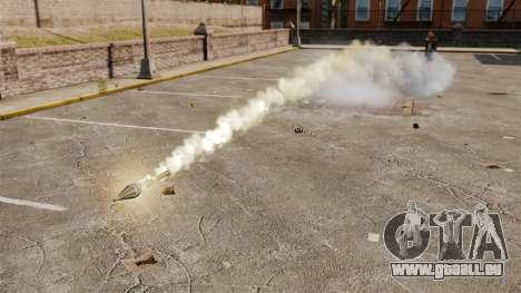 Tir de roquettes pour GTA 4 secondes d'écran