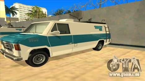 News Van HQ für GTA San Andreas