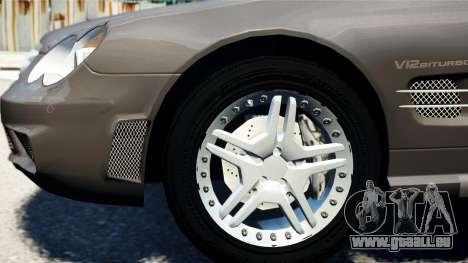 Mercedes-Benz SL65 2007 pour GTA 4 Vue arrière de la gauche