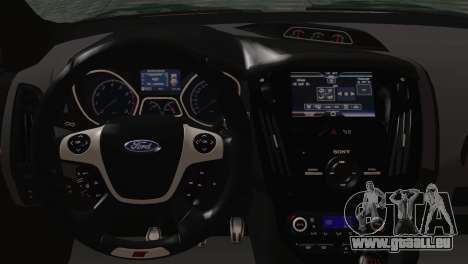 Ford Focus ST 2013 für GTA San Andreas Rückansicht