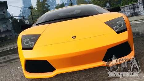 Lamborghini Murcielago LP640 2007 [EPM] pour GTA 4 est une vue de l'intérieur