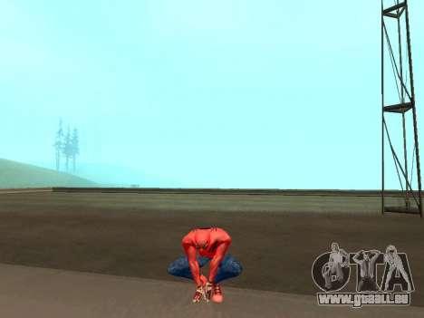 Crouch als der erstaunliche Spider-man für GTA San Andreas dritten Screenshot